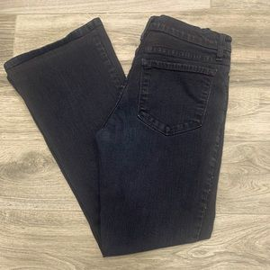 NYDJeans black with thin sparky stripe size 4P